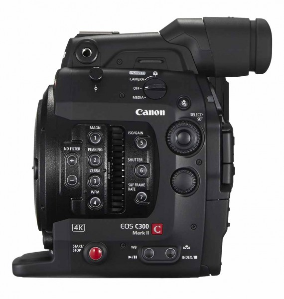 Canon C300 mark ii body