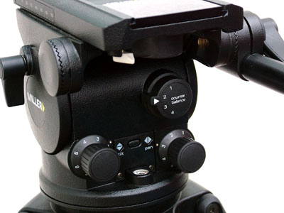 Miller Arrow 40 Tripod Head