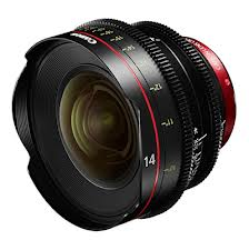 Canon Cinema prime 14mm
