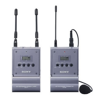 Sony radio mics