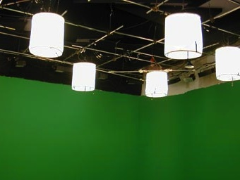 space lights for green screen