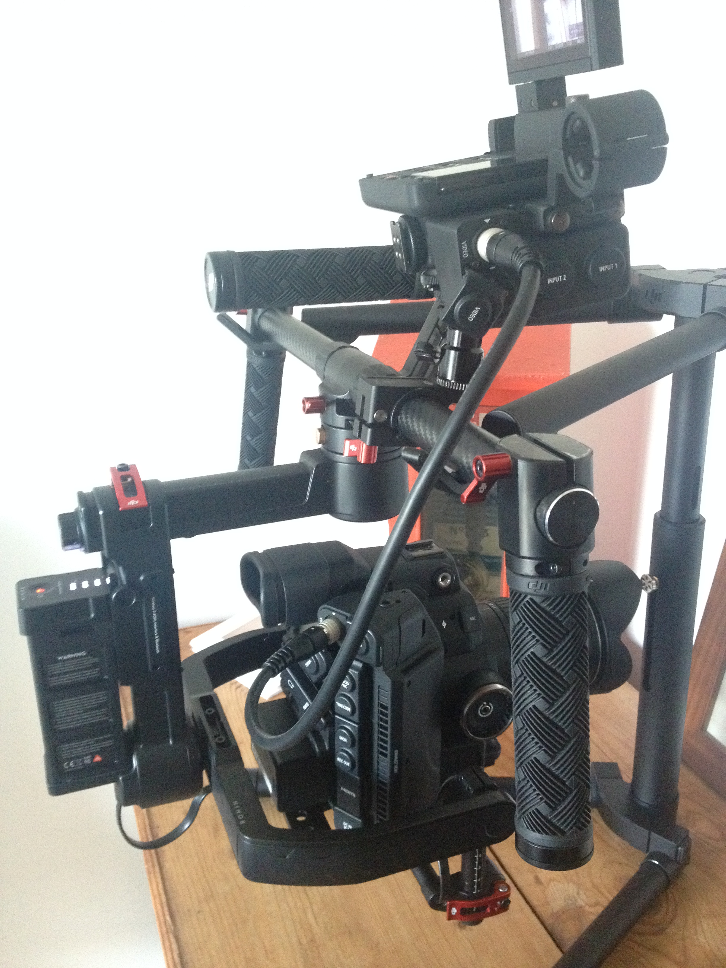 Does the C300 mark ii work on the Ronin M